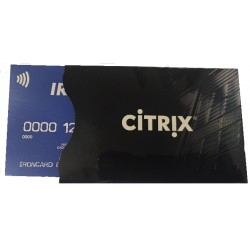 Personalized credit card cover 500 units